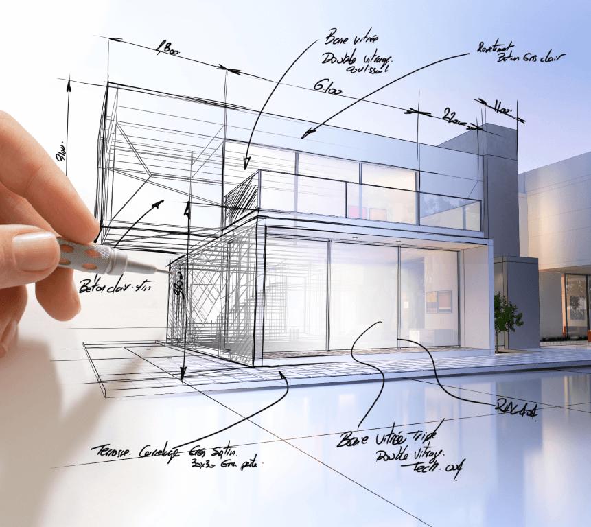 Planung und Architektur Einfamilienhaus